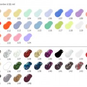 Lacquer Nail BELCANTO colours